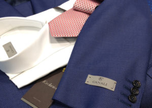 Canali Michael F. Men's Luxury Wear Roma
