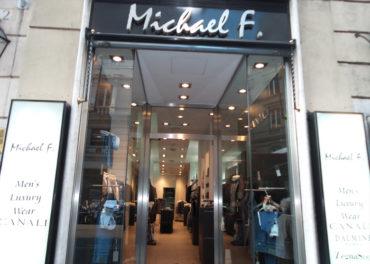 Michael F. Men's Luxury Wear Roma